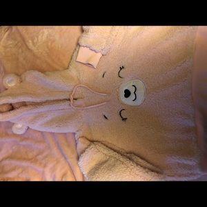Carebear cropped hoodie